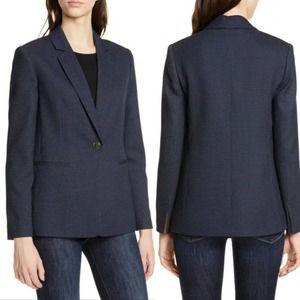TED BAKER LONDON Jacket Betrise Jacquard Navy XL